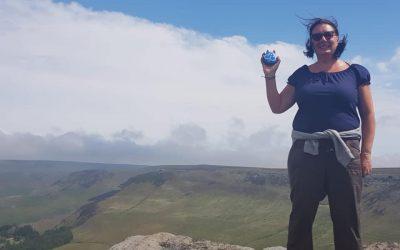 Unit Helper climbs Saddleworth 3 peaks