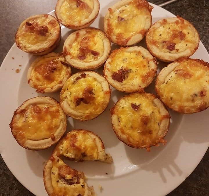 Rangers make Quiches over Zoom